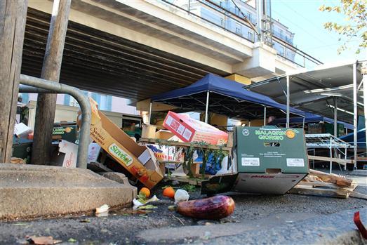Fin de marché via citylocalnews.com