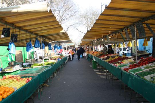 Marché de Belleville via linternaute.com