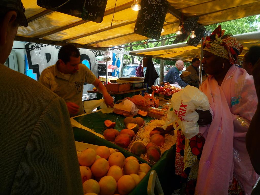Marché de Belleville via opusmang.com