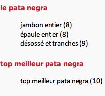 Pata negra 2 via patanegra.fr