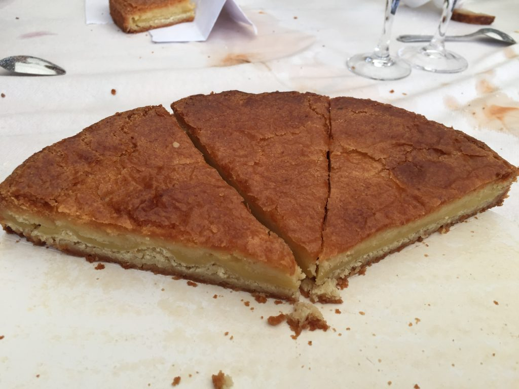 Le gâteau basque © Greta Garbure