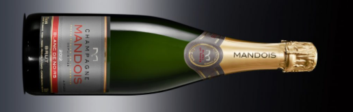 Champagne Mandois Blanc de Noirs brut 2012