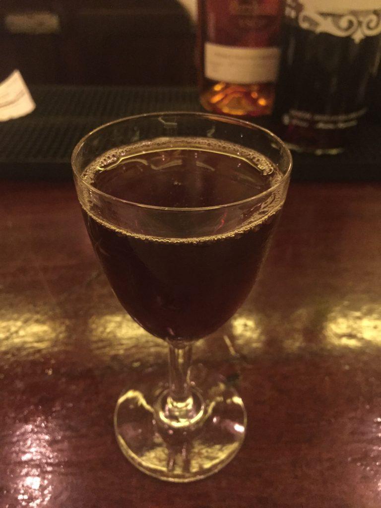 Cocktail cognac et Denoix