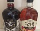 2 rhums Rivière du Mât : un rhum Black Spiced et un rhum arrangé Mangue Passion (La Réunion)